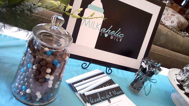 Donovan Traditions: Milkaholic Baby Shower | Baby Shower Ideas | Pinterest