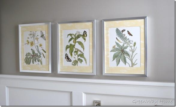 Fabric Mat Botanicals