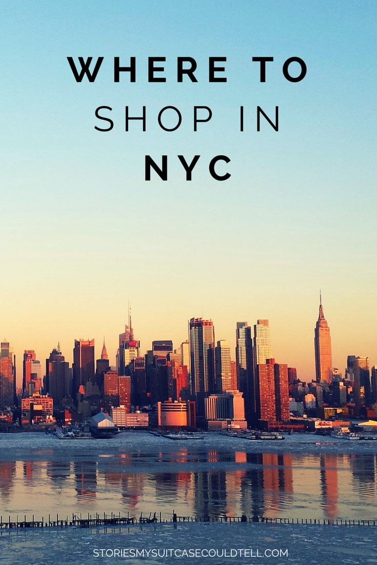 Want to find the best places to shop in NYC? Here are the five best neighbourhoods for a Sex and the City-style shopping spree in the Big Apple!