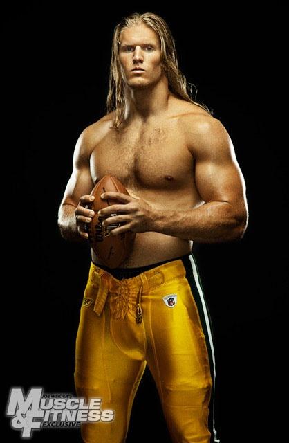 Looking forward to football season with - Clay Matthews....He is my MAN!!!! HOT HOT HOT!!!