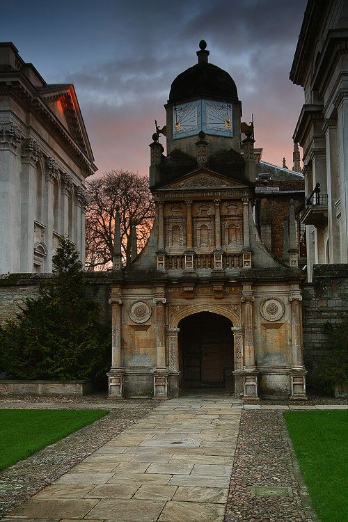 Gate of Honour, Gonville and Caius College - Cambridge University -