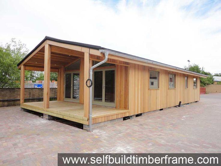 Example Build Cedar Mobile Home Log Cabins Self Build