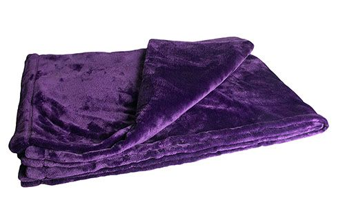 Purple Throw Blanket from The Purple Store - EVERYTHING there is purple!! https://www.thepurplestore.com/cgi-bin/product_detail.cgi?pstore_id=16698
