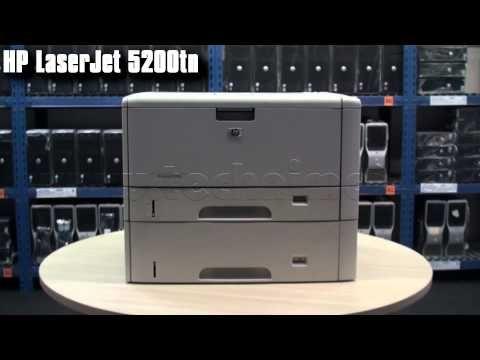 Velkokapacitní tiskárna HP LaserJet 5200TN A3 s druhým podavačem tonerem a kabelem