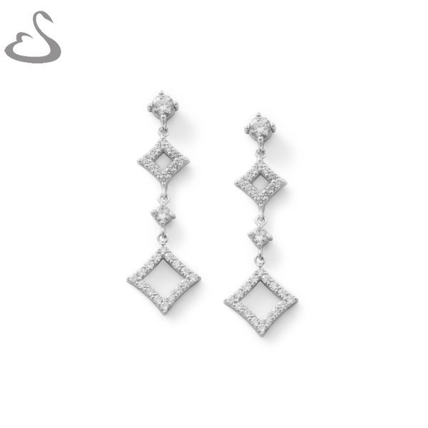 925 Sterling Silver and cubics. Code: ER-132. Company: Vera's Bridal Collection. Website: www.verasbridalcollection.co.za