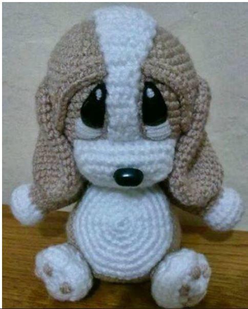 Schema gratuito amigurumi cagnolino