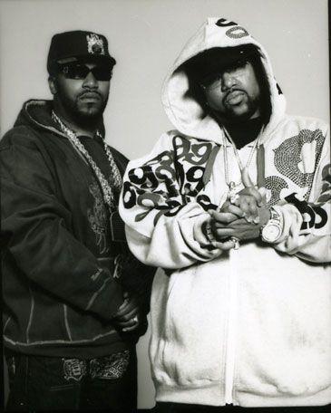 Rap Duo - The Underground Kings UGK. Bun B & Pimp C