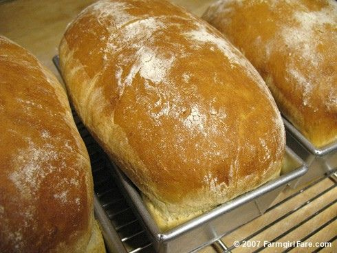 How to bake the perfect loaf of breadSandwiches Breads, Breads Recipe, Perfect Loaf, White Sandwiches, New Recipe, Baking Breads, Homemade Breads, White Breads, Farmhouse White