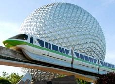 Walt Disney World Epcot Center (Orlando, Florida) One of the Disney worlds we visited during week long Spring Break stay.