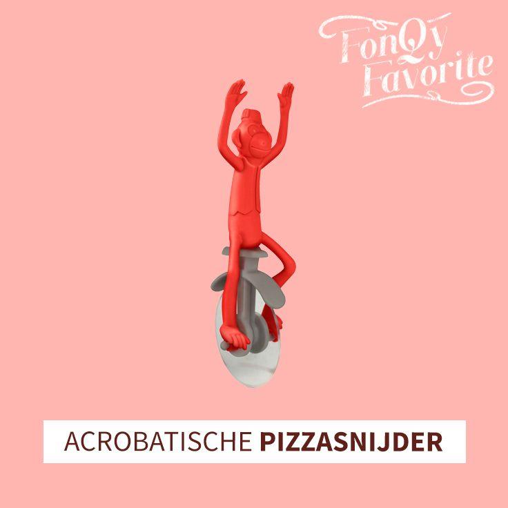 Met deze grappige pizzasnijder wordt het snijden van je pizza een koud kunstje. #pizza #fonQyfavorite