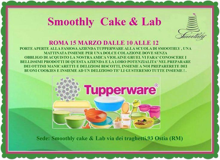 Porte aperte alla Tupperware martedì 15 marzo alla scuola di smoothly una colazione speciale per tutti. Non c é obbligo di acquisto !