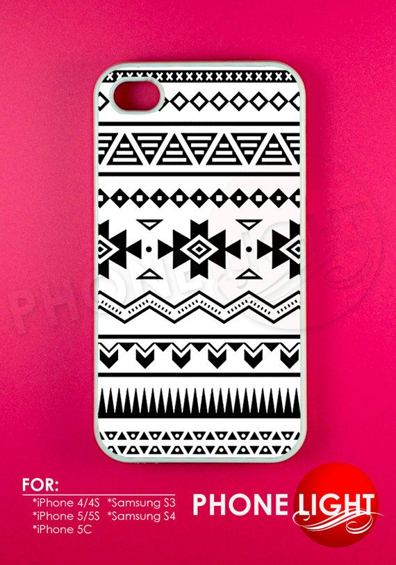 Aztec Pattern Phone Case  Rubber and Plastic by PHONELIGHT on Etsy, $13.99