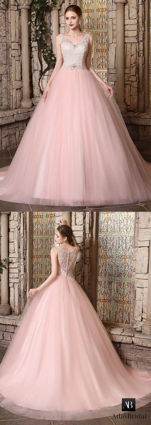 Best 25+ Pink wedding gowns ideas only on Pinterest | Blush ...