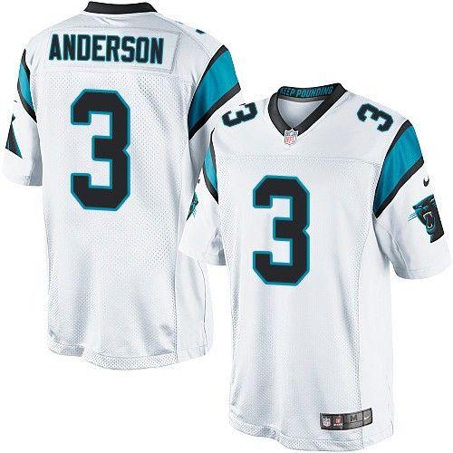$24.99 Nike Limited Derek Anderson White Men's Jersey - Carolina Panthers #3 NFL Road