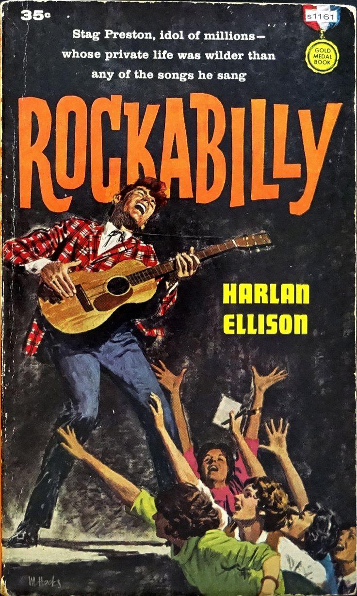 ROCKABILLY | pulp cover art vintage paperback