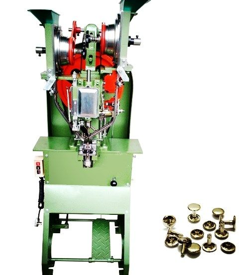 Jeans Button Automatic Snap Fastener Machine | Fully Snap