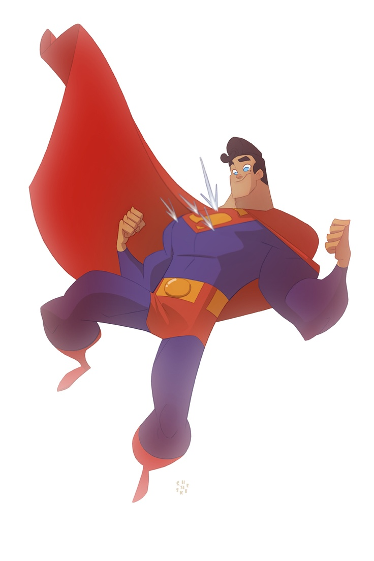Superman, by Sean Galloway.