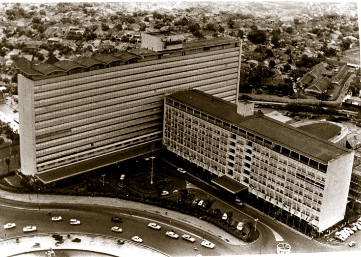 old Hotel Indonesia, built in 1962  it used to be the tallest building in Jakarta