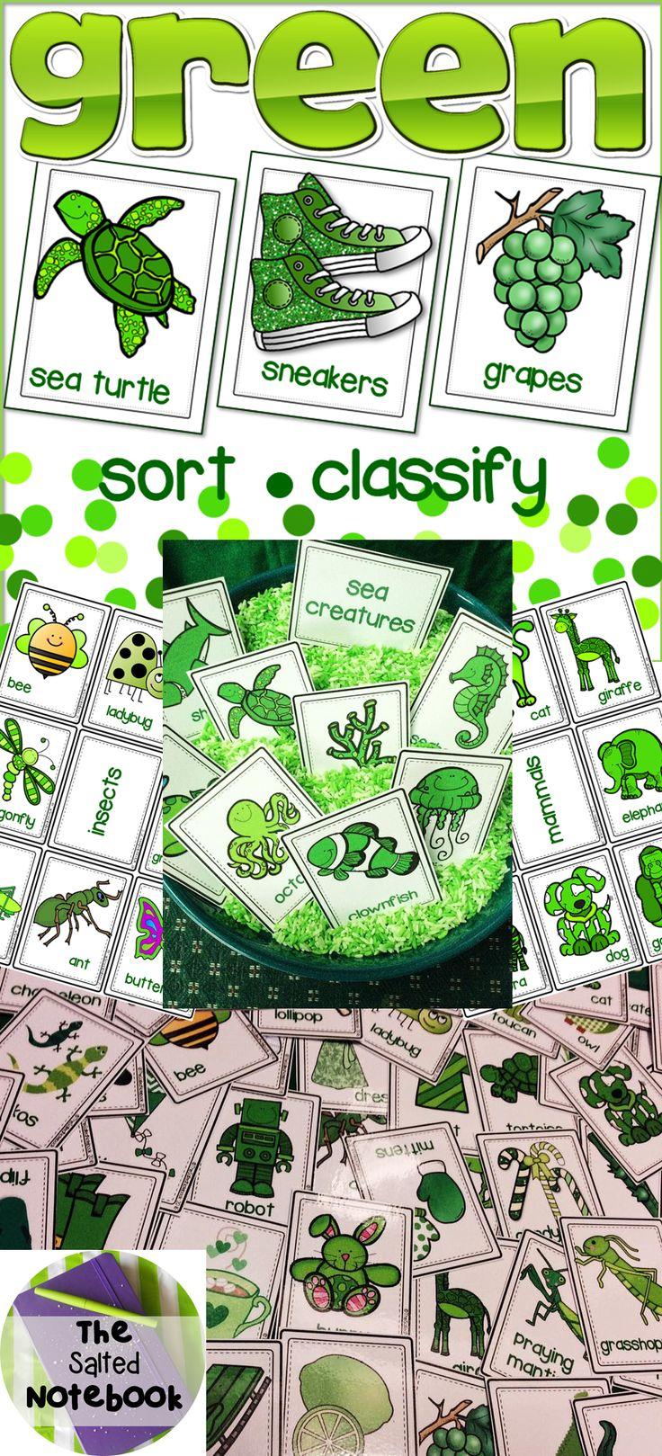 34 best Color Green images on Pinterest | Kindergarten, Preschool ...