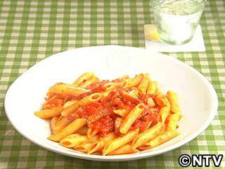 ベーコンとトマト缶だけで簡単、濃厚な味「ペンネ アマトリチャーナ」のレシピを紹介!