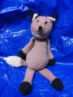 #edsanimals volpe uncinetto - fox crochet amigurumi