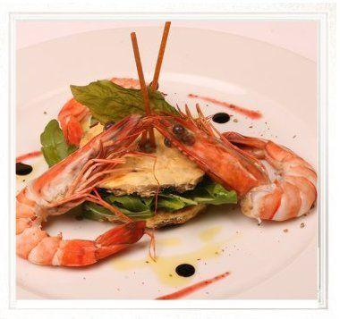 Nakládané krevety / Pickled shrimp