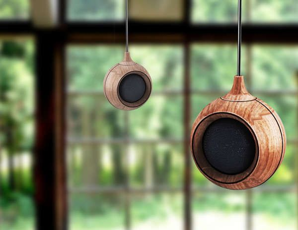 Dewdrop Audio Devices - The Droplet Speaker Suspends from the Ceiling to Deliver Pure Sound (GALLERY)