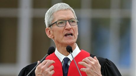 'Don't listen to trolls, don't become one': Apple CEO addresses MIT grads