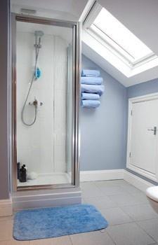 Attic bathroom