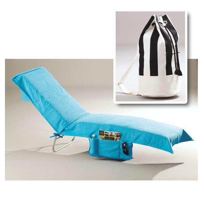 Kwik Sew Lounge Chair Cover & Beach Bag Pattern