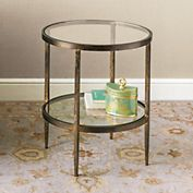 Larson Round Side Table