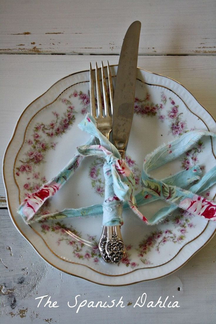 For the shabby table
