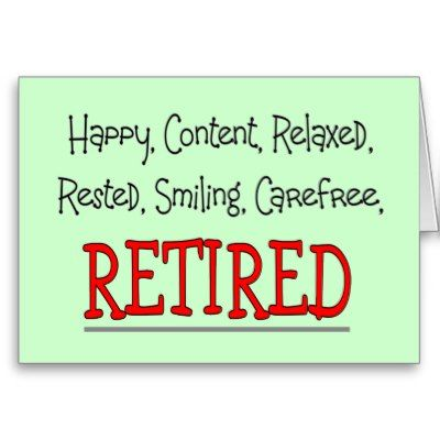 Images for happy retirement sayings