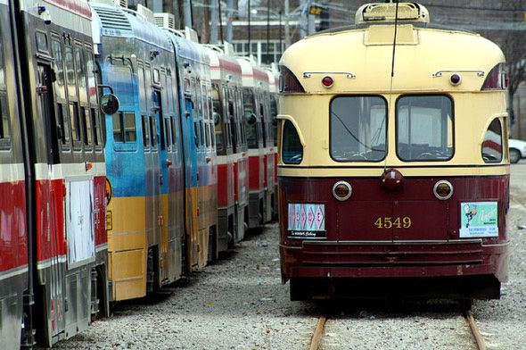 The Streetcar - Toronto's Classic Mode Of Transport:  Trolley Cars