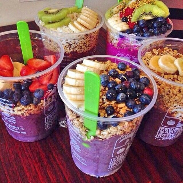 Acai Bowls... SO GOOD!