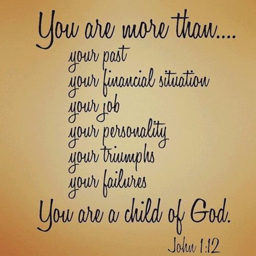 John 1:12 Yet to all who received Him, to those who believed in His name, He gave the right to become children of God. ~ We must Receive Christ