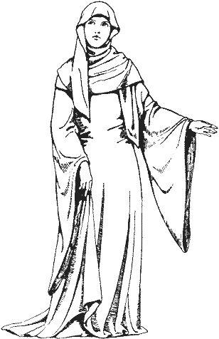 Historie odívání - 12.století, část 4.