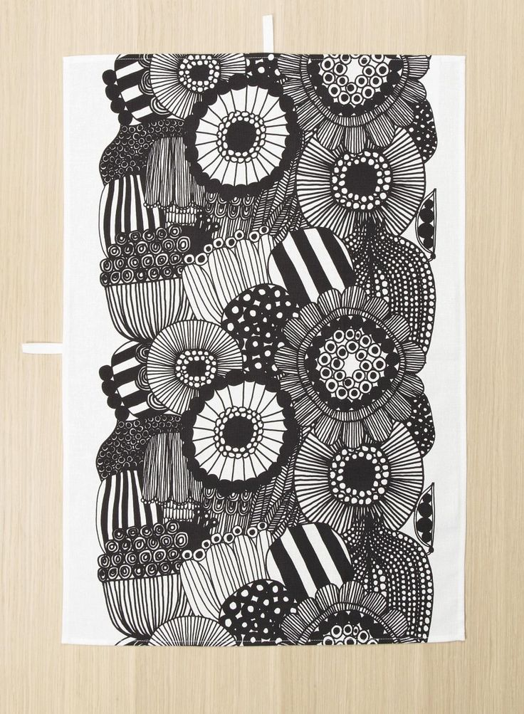 Allotment tea towel - Textiles - Kitchen - Home - Marimekko.com