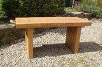 Irish oak benches, simple yet elegant inside or outdoor furniture, made in solid oak with or without natural manila rope handles. Our benches come with free engraving, making an ideal personalised gift, A favourite for Wedding Gifts, Anniversaries, Birthdays or any special occasion.  Small or classic Irish oak bench, also Large bespoke bench, at any length you like. (1.1-2.0 meters)