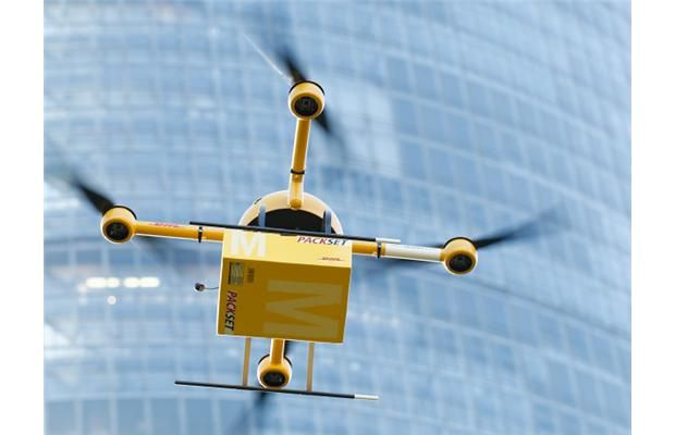 Germany tests drones for postal delivery