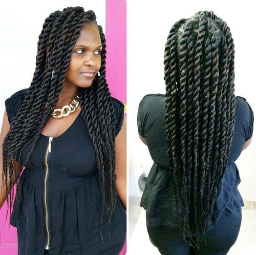 Best 25 Natural Twist Hairstyles Ideas On Pinterest