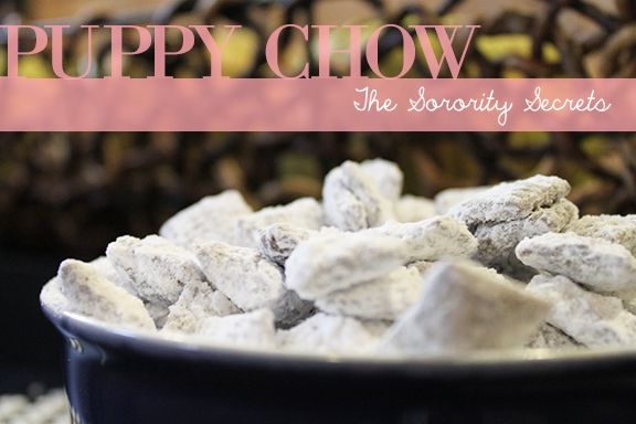 Superbowl Snacks: Puppy Chow