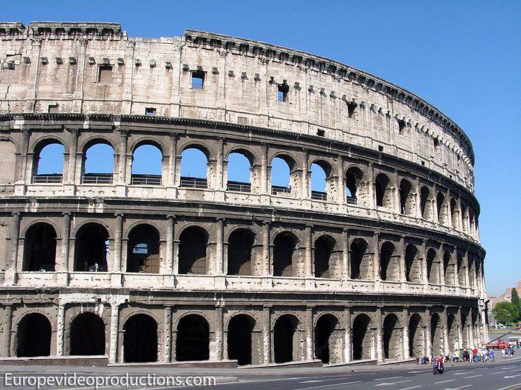 Coliseo de Roma en Italia