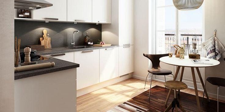 Oltre 25 fantastiche idee su cucina in marmo bianco su for Tavolo rotondo nordico