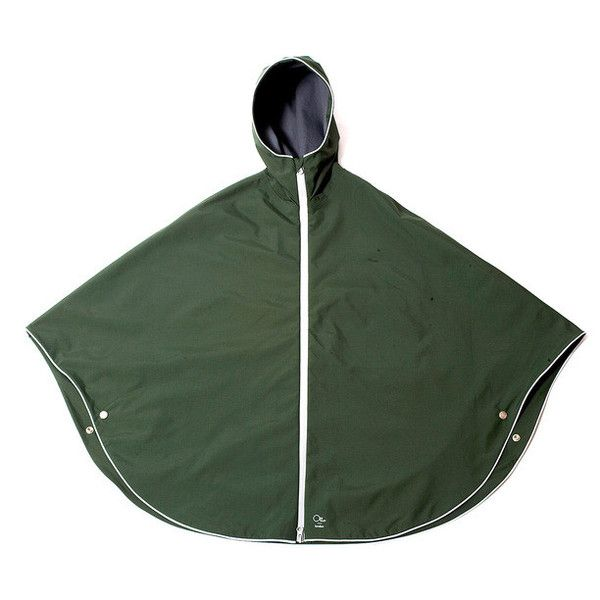 Otto London bike rain cape Urban Poncho green