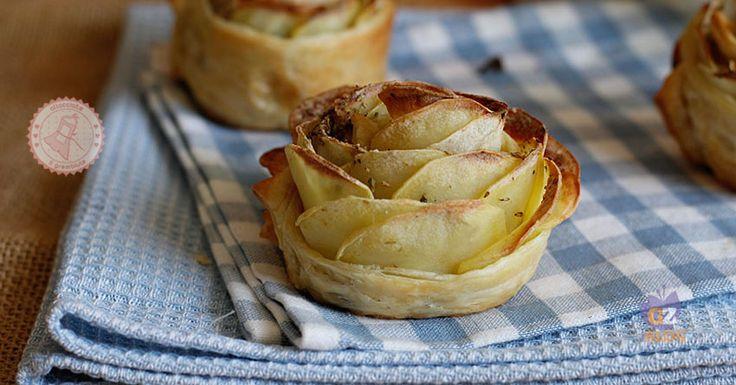 Le rose di patate una ricetta facile e velocissima da preparare, gustosa e personalizzabile come preferite con altri ingredienti.