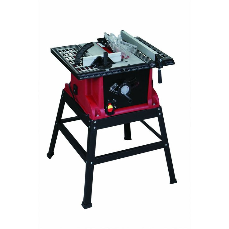 10 in 15 amp industrial table saw
