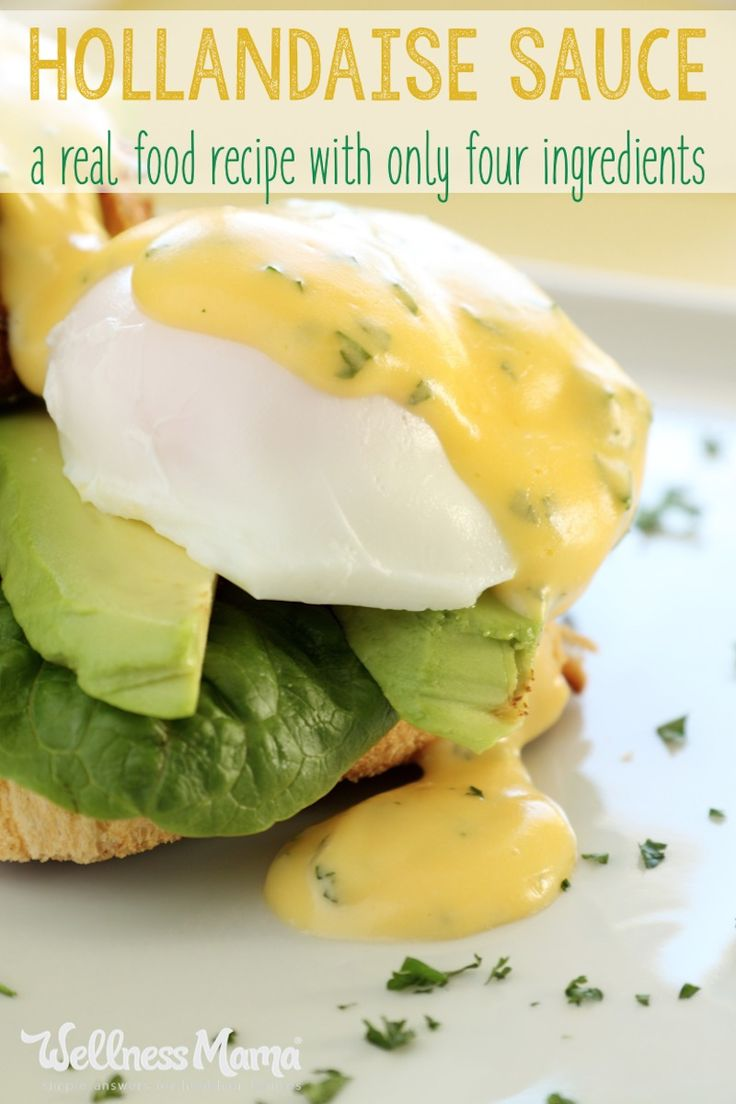 Perfect Hollandaise Sauce (With Just 4 Ingredients!)