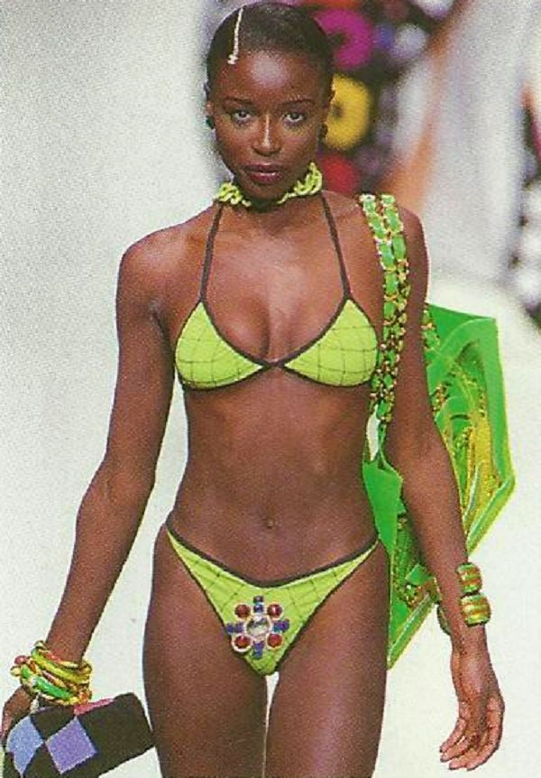Lorraine Pascale, Chanel Spring/Summer 1995