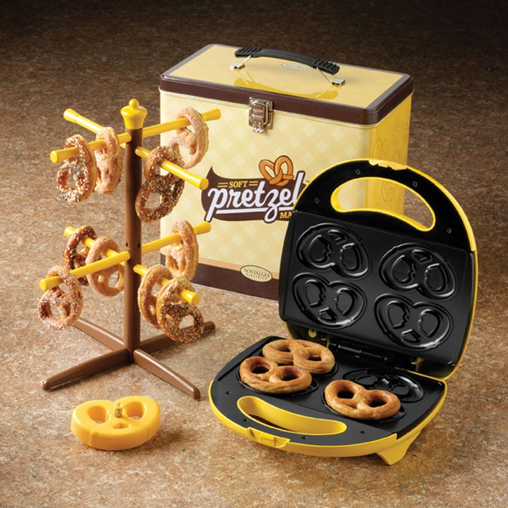 Soft Pretzel Maker Kit.